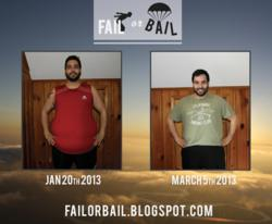 Fail or Bail Project - Halfway point pictures