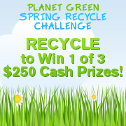 Planet Green Spring Recycle Challenge