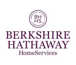 The new Berkshire Hathaway HomeServices brand identity.