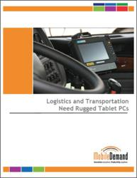 Rugged Tablet PC eBook for Transportation and Logistics