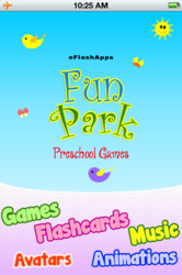 Baby First Words Fun Park: Flashcards and games for kids in preschool & kindergarten