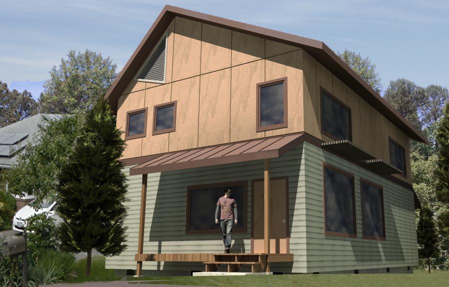 Ballard passive house by builder hammer hand featured on for Ballard house