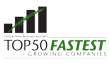 50 Fastest Growing Company Logo