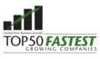 50 Fastest Growing Company Logo