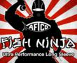 Fish Ninja Performance Fishing Sun Hoodie by AFTCO