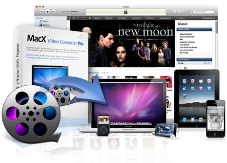 مبدل ویدئویی برای سیستم عامل مک MacX Video Converter Pro 5.9
