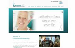 Drossman Gastroenterology's Newly Designed Website by Precision Marketing Partners