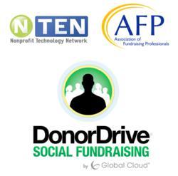 AFP NTEN DonorDrive Logos