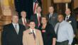 Left to Right Les Evans Liaison, Mike Porter CIO, Senator Tyler Harper, Dr. Jeffrey Kesler COO, Paula Guy CEO, Lt Governor Casey Cagle, Daniel Pierce DPH, Matt Jansen Executive Director