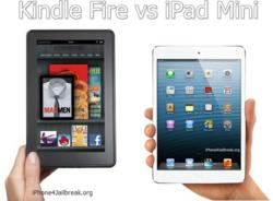 Amazon Kindle Fire HD vs iPad Mini Features Released on Mingyaa.com
