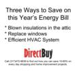 Three Ways to Save on this Year's Energy Bill