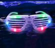 LED Shutter Shade Sunglasses from Glowsource.com