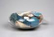 Ocean Scented Shells in Glass Bowl