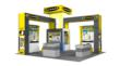 Banner Engineering Tradeshow Exhibit by nParallel