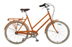 Brooklyn Cruiser Willow 3 City Bike in Tangerine
