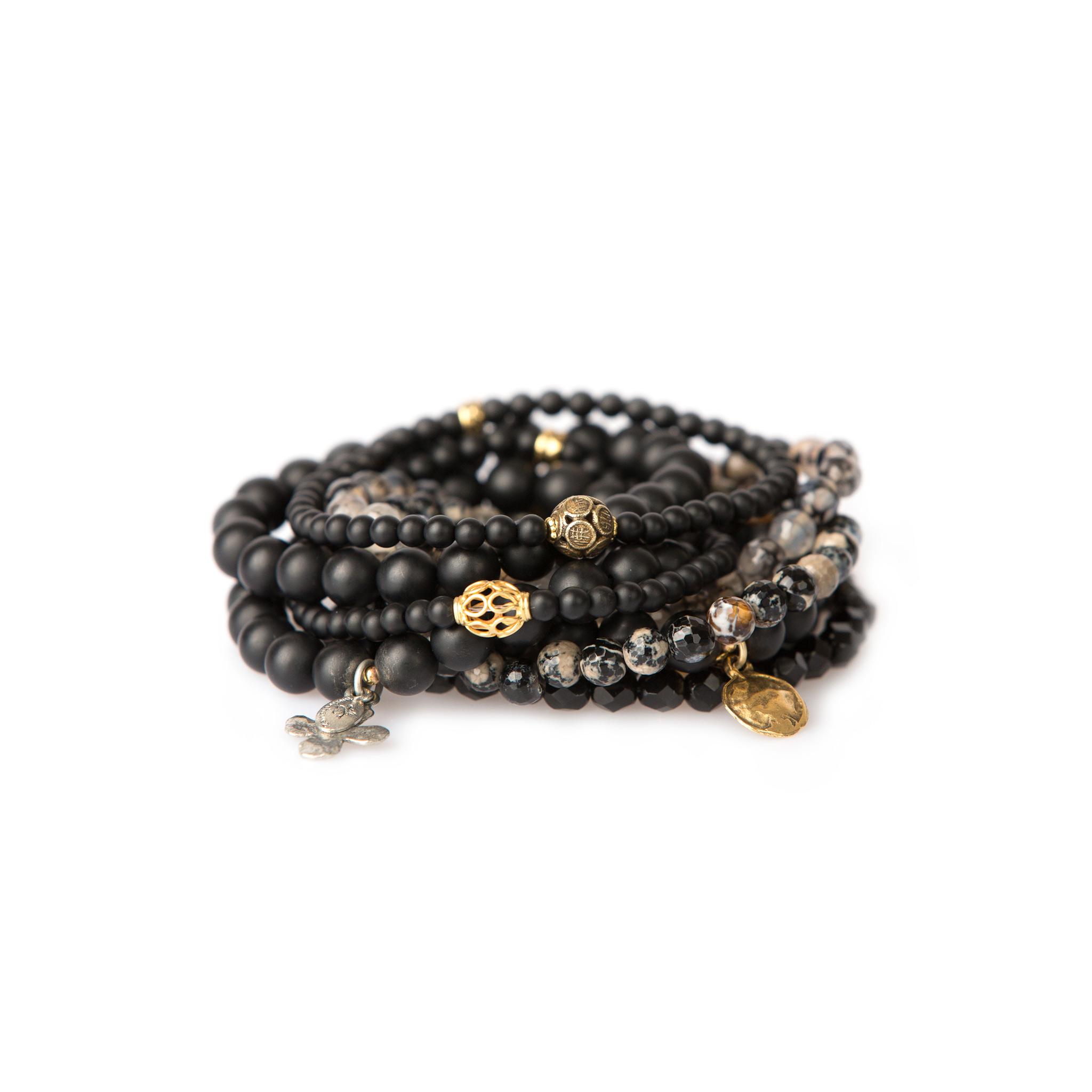accessorize for charity at a unique bracelet bar event