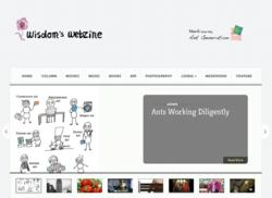 Website of Wisdom's Webzine
