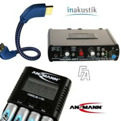 The Ansmann, in-akustik and Fischer Amps Product Lines