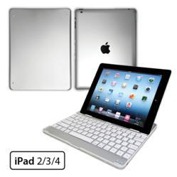 iPad Ultra Thin Aluminum Bluetooth Keyboard Case