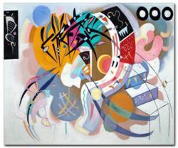 Kandinsky's Dominant Curve