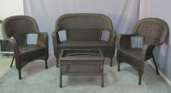 Clearance Wicker Furniture Set