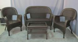 Clearance Wicker Furniture Set