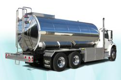 oilmens insulated DEF stainless steel tank wagon