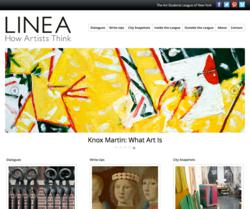 LINEA: How Artists Think, the online journal of the Art Students League of New York