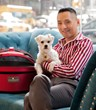 When traveling to New York City, you and your pup are welcome guests of Toshi, the iconic owner of the Flatiron Hotel, and his dog Ponzu.