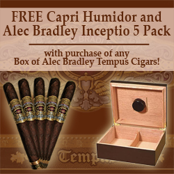 Alec Bradley Tempus Cigars Deal