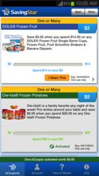 SavingStar Mobile App
