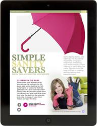 Julie Edelman's page in the iPad magazine.