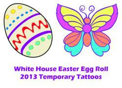 Easter-temporary-tattoos-provided-for-White-House-Easter-Egg-Roll