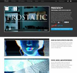 PROSTATIC - Static and Interference - Apple Final Cut Pro X Effects - FCPX Plugins - Pixel Film Studios