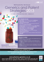 Generics and Patent Strategies, 13th & 14th May, London