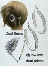 Fashion Jewelry and Hair Accessories at Deal Prices