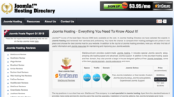 Joomla Hosting Directory Top ranked hosts