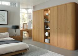 Fitted bedroom in Optima Oak