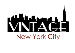 Vintage New York City Magazine Logo