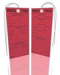 Lean Healthcare 5S Red Tags