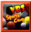 Vacation Bible School Sports Camp Theme