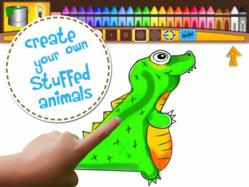 design your own stuffed animal iPad app