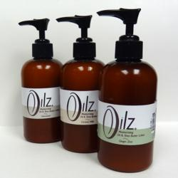 Oilz+ Moisturizing Oil and Shea Butter Lotion