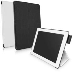 SoundBoost™ iPad Case with sound reflector deployed for the new Apple iPad