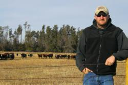 Marine Corps Veteran Garrett Dwyer, cattle rancher in Nebraska and FVC board member