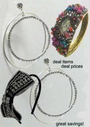 Fashion Jewelry offered as Weekly Deals at great money saving deal prices.