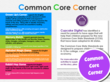 The Common Core Corner Explains What Has Been Learned in the Story
