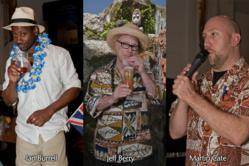 Ian Burrell, Jeff Berry and Martin Cate are among the notable experts in the field of rum and tropical cocktails presenting seminars at the annual Miami Rum Festival April 20-21.