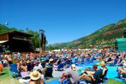 Telluride Bluegrass Festival in Town Park