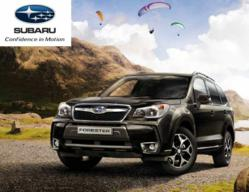 The All New 2013 4th Generation Subaru Forester